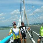 Le pont de Normandie à vélo ! (1)